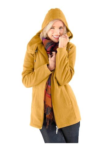 Casual Looks Fleece - Jacke mit Kordelstopper kaufen
