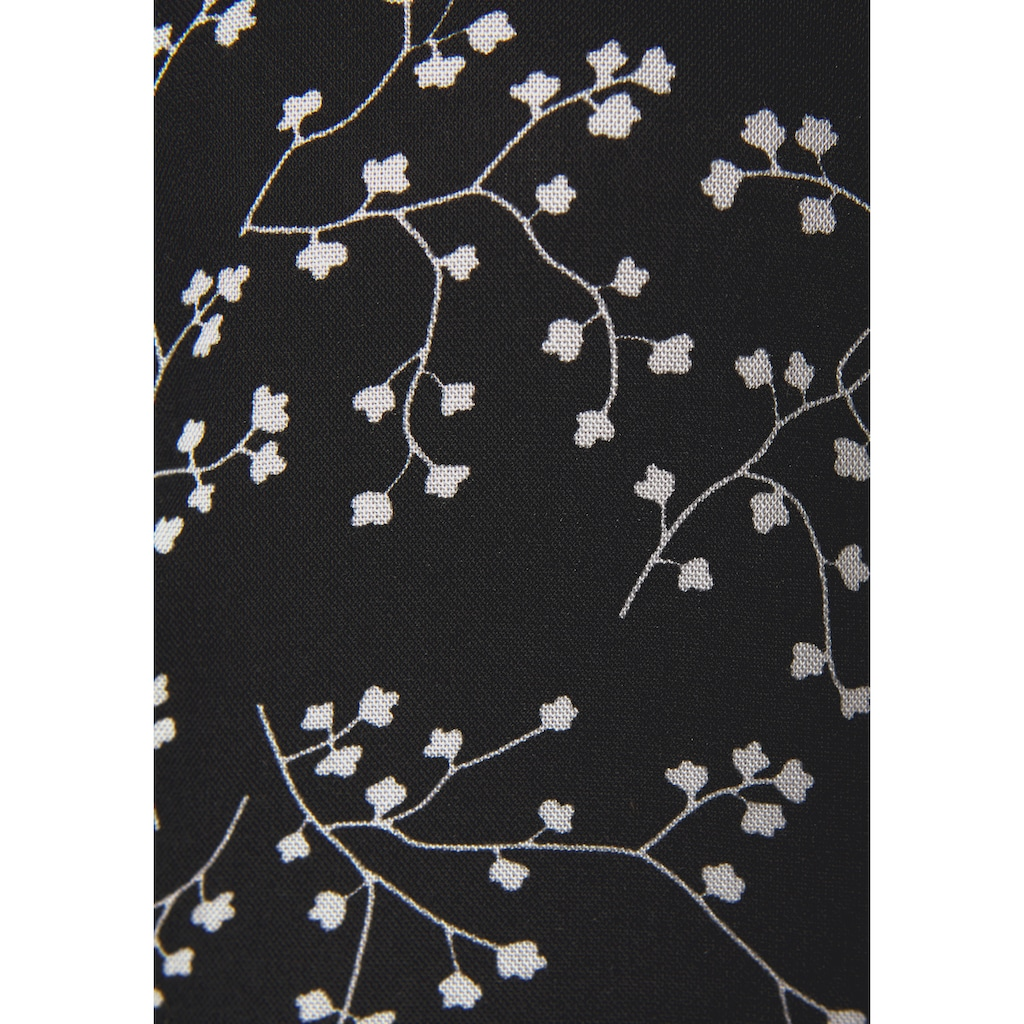 LASCANA Minikleid, mit dezentem Blumenprint