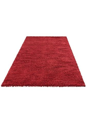 Theko Exklusiv Hochflor-Teppich »Kartal«, rechteckig, 30 mm Höhe, Wollshaggy, Wohnzimmer kaufen