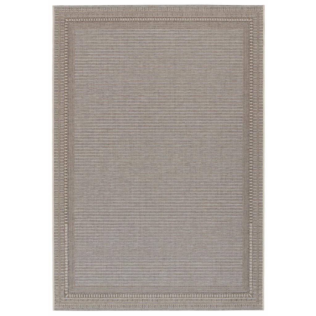 freundin Home Collection Teppich »Ocean«, rechteckig, 4 mm Höhe, Flachgewebe, In- und Outdoor geeignet, Wohnzimmer