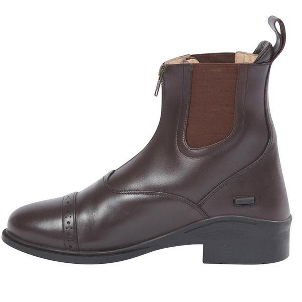 Image of Dublin Reitstiefel »Evolution Unisex Leder Paddock Stiefel, vorderer Reissverschluss«