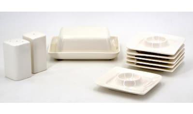"Retsch Arzberg Frühstücks - Set ""Fantastic"" (9 - tlg.), Fine China - Porzellan kaufen"