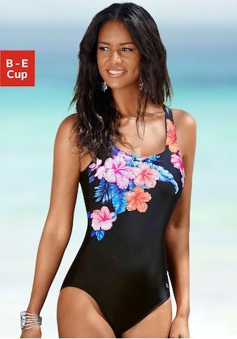 LASCANA Badeanzug, mit eleganter Raffung und Shaping-Effekt kaufen
