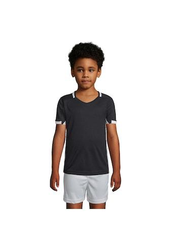 SOLS T-Shirt »Kinder Classico Kontrast Kurzarm Fussball« kaufen