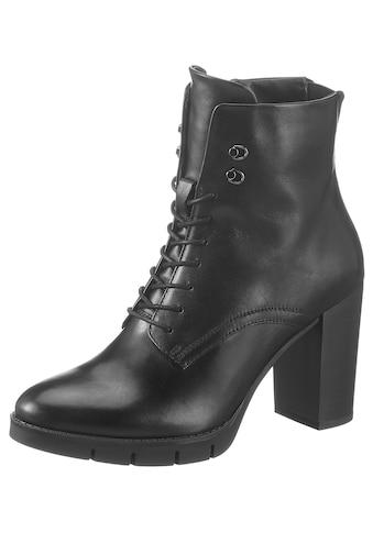 Tamaris High-Heel-Stiefelette »Anra«, in abgerundeter Form kaufen
