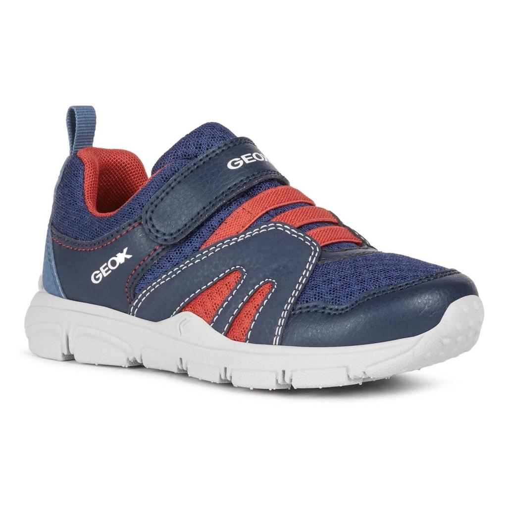 Geox Kids Sneaker »NEW TORQUE BOY«, mit gepolstertem Schaftrand
