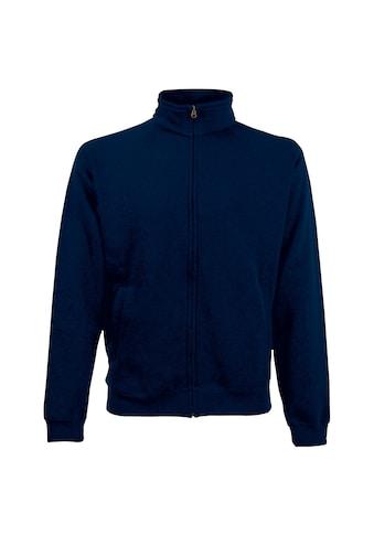 Fruit of the Loom Nickijacke »Herren Sweat-Jacke / Sweatshirt mit Reissverschluss« kaufen