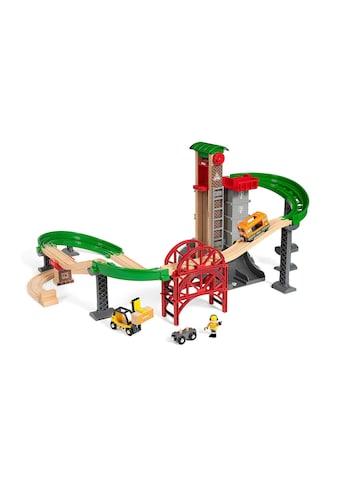 BRIO® Spielzeugeisenbahn-Gebäude »BRIO® WORLD Grosses Lagerhaus-Set mit Aufzug«, (Set) kaufen