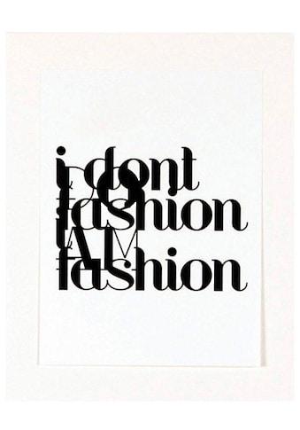 Home affaire Kunstdruck »Fashion« kaufen