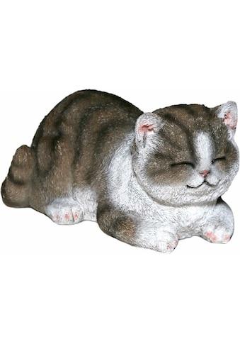 Casa Collection by Jänig Tierfigur »Katze grau-weiss, schläft« kaufen