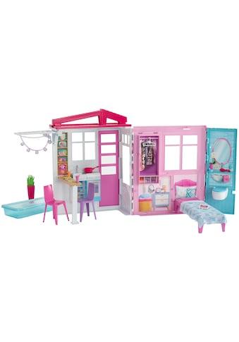 Zubehör, Barbie®, »Ferienhaus mit Möbel« kaufen