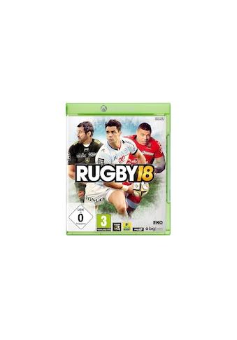 BigBen Spiel »Rugby 18«, Xbox One X, Standard Edition kaufen