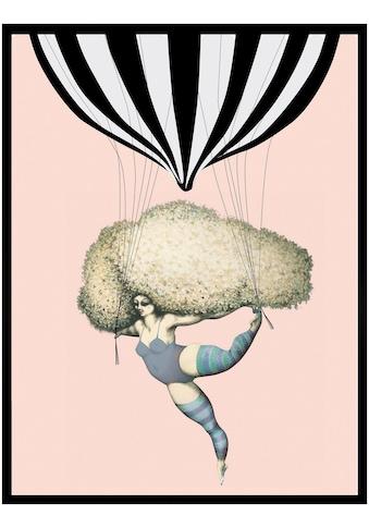 Home affaire Kunstdruck »Dancing with Balloon« kaufen
