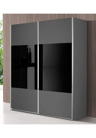 rauch ORANGE Schwebetürenschrank »Quadra«, mit Glaselementen kaufen