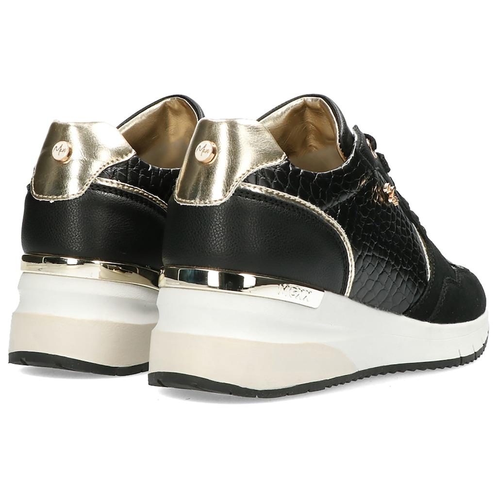Mexx Wedgesneaker »GENA«, mit goldfarbenen Details