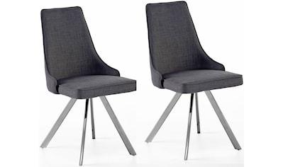 MCA furniture Esszimmerstuhl »Elara B«, 2er-Set, drehbar 180° mit Nivellierung, Belastbar bis max. 120 kg kaufen