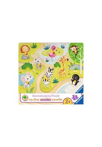Ravensburger Puzzle »Unterwegs im Zoo« kaufen