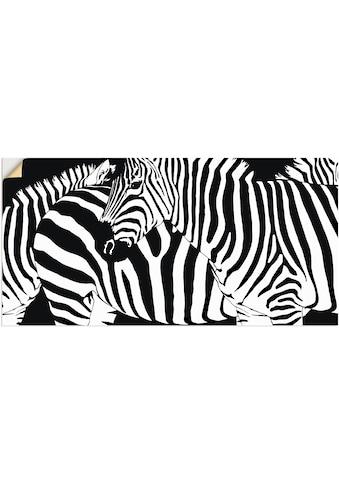 Artland Wandbild »Zebrastreifen« kaufen