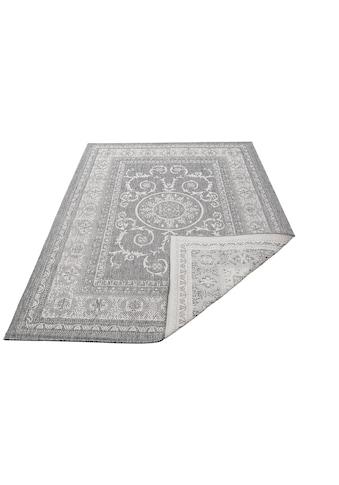 my home Teppich »Sanem«, rechteckig, 5 mm Höhe, In- und Outdoor geeignet, Wendeteppich, Wohnzimmer kaufen