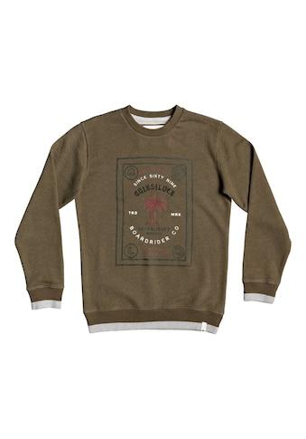 Quiksilver Sweatshirt »Bad Liar« acheter