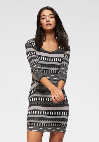 AJC Jerseykleid, mit Ethno und Ikat Muster kaufen