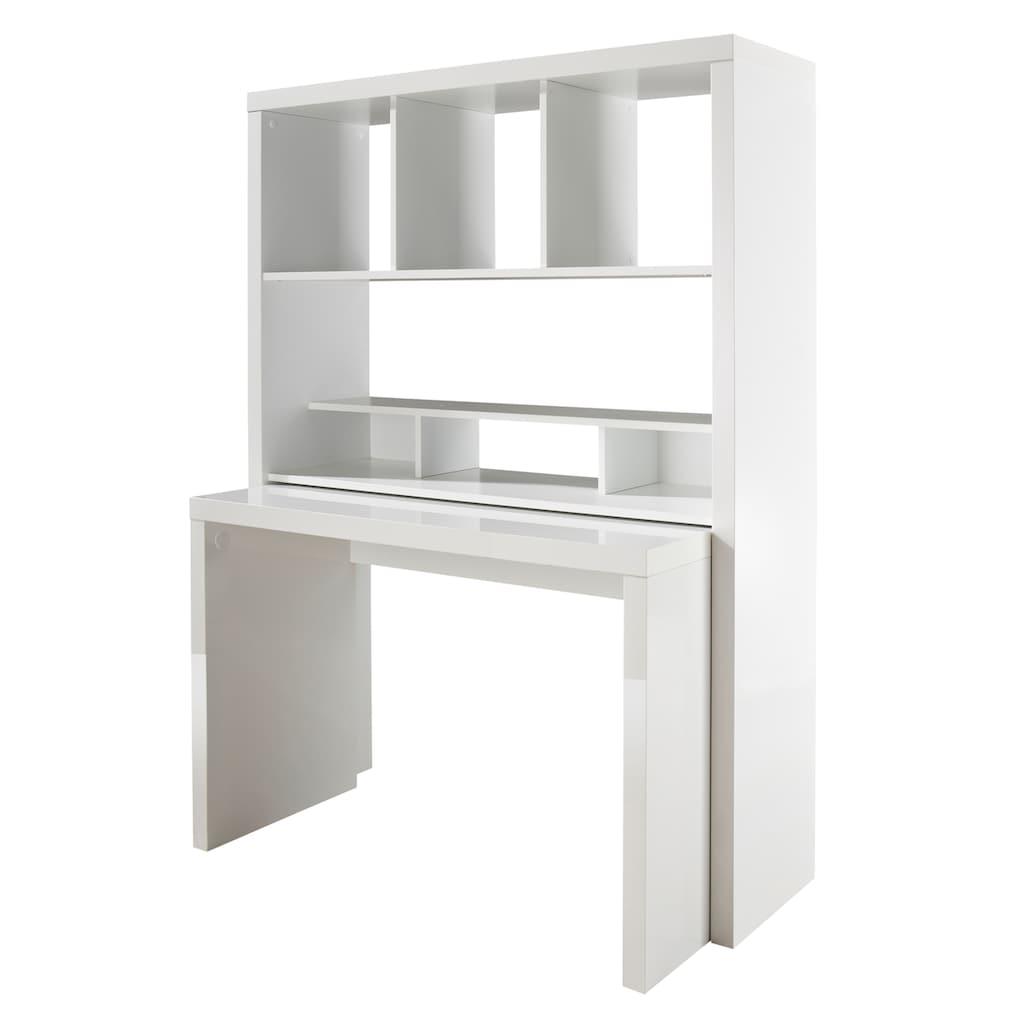 HMW Collection Büro-Set »Danzig«, mit ausziehbarem Schreibtisch