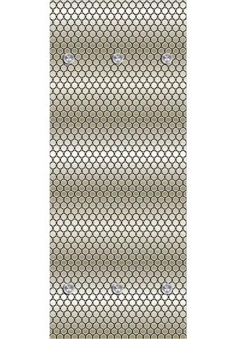 queence Garderobenpaneel »Punkte«, mit 6 Haken, 50 x 120 cm kaufen
