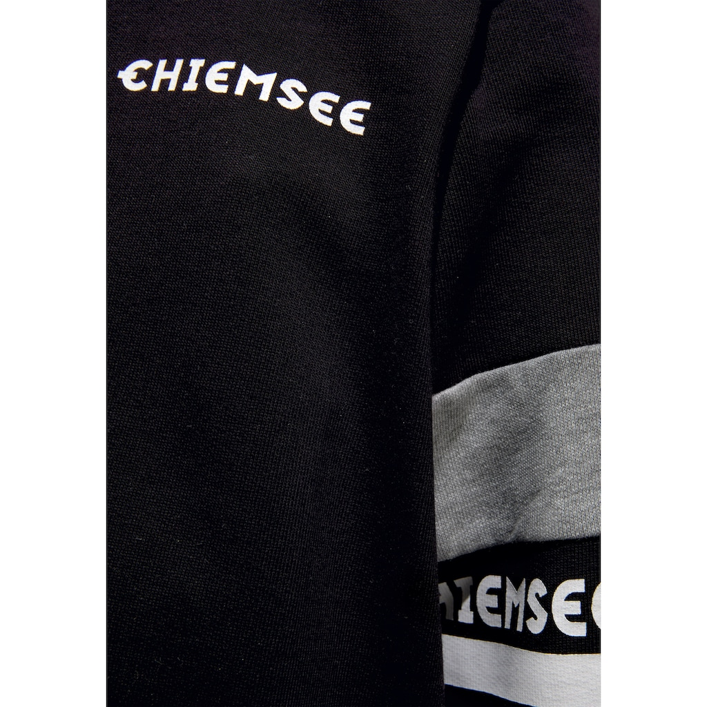 Chiemsee Kapuzensweatshirt, mit kontrastfarbenen Details