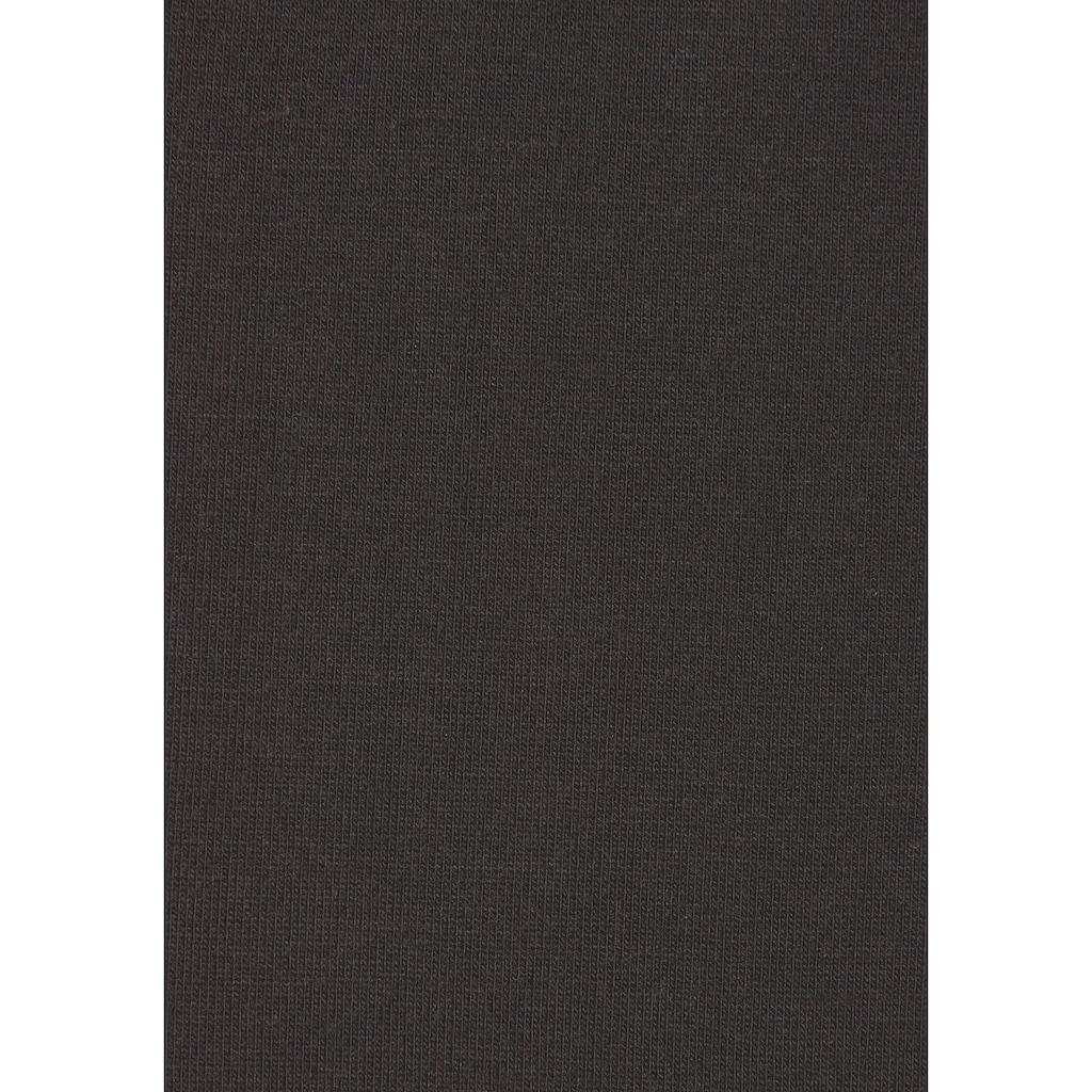 LASCANA Maxikleid, mit Spitzeneinsätzen im Rockteil