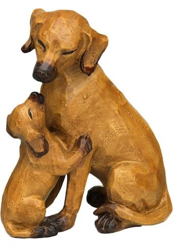 Ambiente Haus Dekofigur »Hund mit Welpe«, gross kaufen