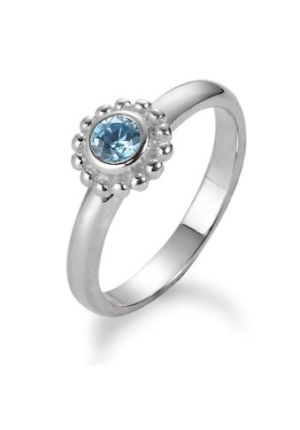 Fingerring Silberfarben Kristall kaufen