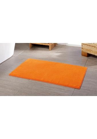 Badematte »Chenille«, Gözze, Höhe 15 mm, rutschhemmend beschichtet, fussbodenheizungsgeeignet kaufen