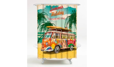 Sanilo Duschvorhang »Summer Bus«, Breite 180 cm, Höhe 200 cm kaufen