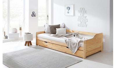 Home affaire Daybett »Tim«, mit ausziehbarer Schublade für Zweitmatratze als Gästebett kaufen