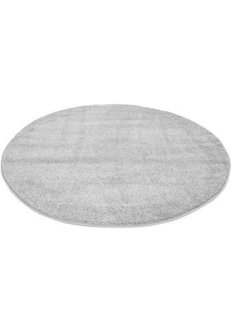 Carpet City Teppich »Moda Soft 2081«, rund, 11 mm Höhe, pastell Farben, Kurzflor,... kaufen