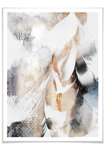 Wall-Art Poster »Seelenruhe«, Schriftzug, (1 St.) kaufen