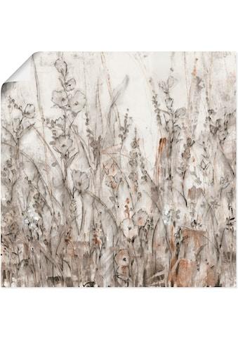 Artland Wandbild »Schatten II«, Blumenwiese, (1 St.), in vielen Grössen & Produktarten... kaufen