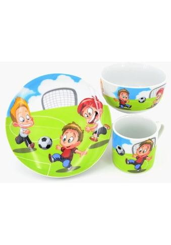 Retsch Arzberg Kindergeschirr-Set »Fussball«, (Set, 3 tlg.) kaufen