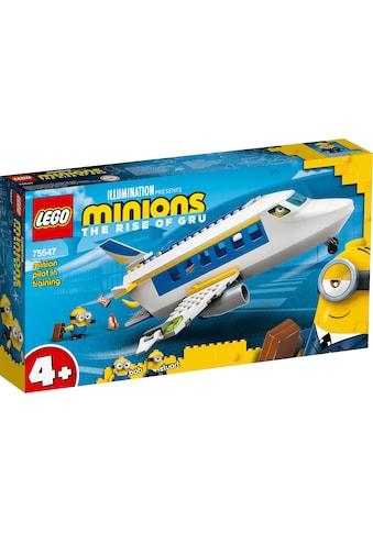 LEGO® Konstruktionsspielsteine »Minions Flugzeug (75547), LEGO® Minions«, (119 St.),... kaufen