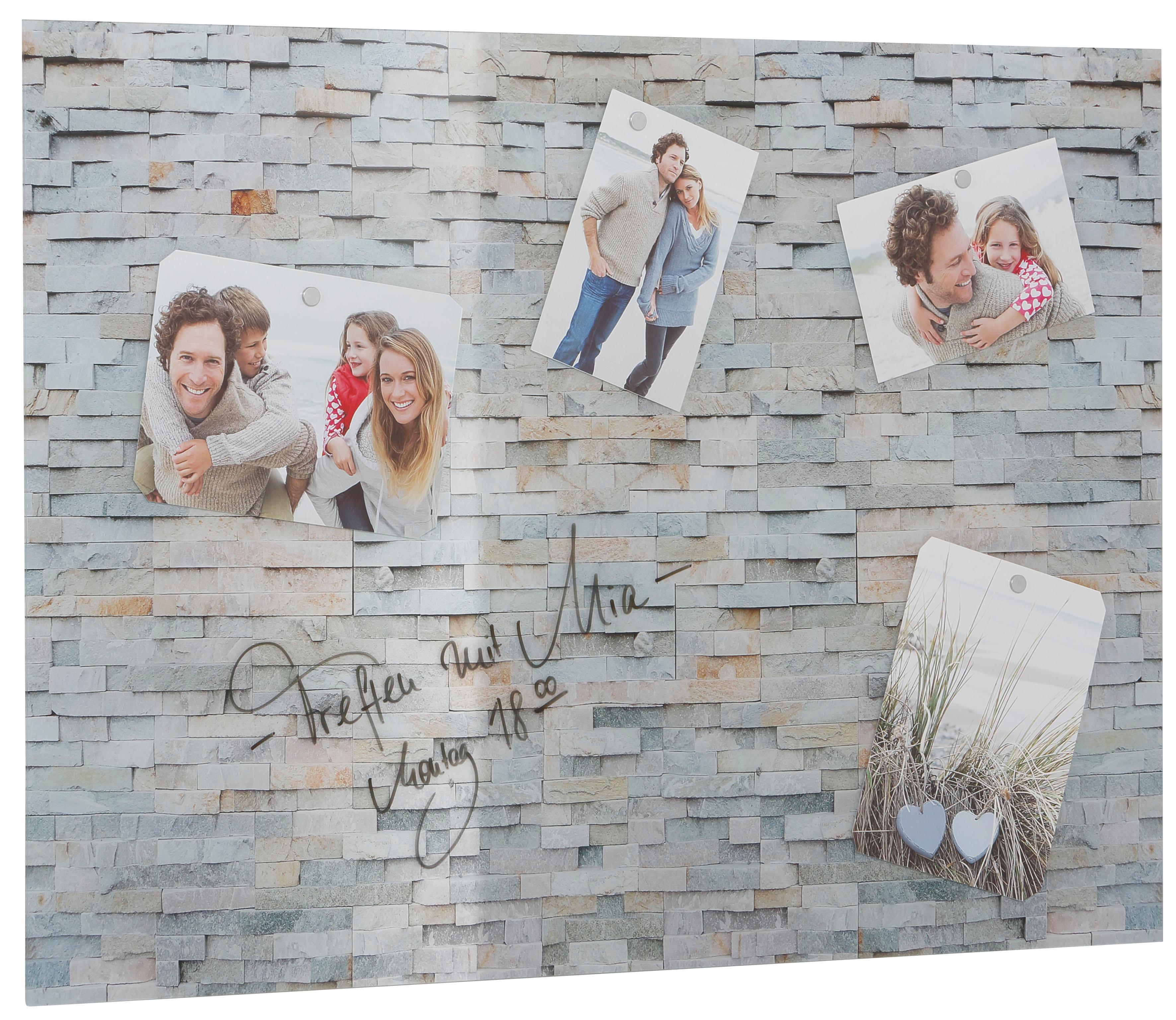 """Image of Home affaire Magnettafel """"Stone Wall"""""""