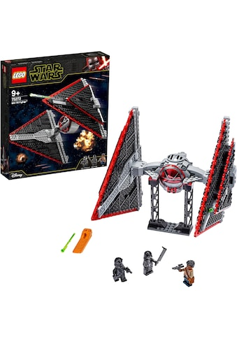 LEGO® Konstruktionsspielsteine »Sith TIE Fighter™ (75272), LEGO® Star Wars™«, (470 St.), Made in Europe kaufen