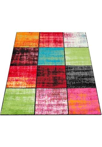 Teppich, »ECE 952«, Paco Home, rechteckig, Höhe 14 mm, maschinell gewebt kaufen
