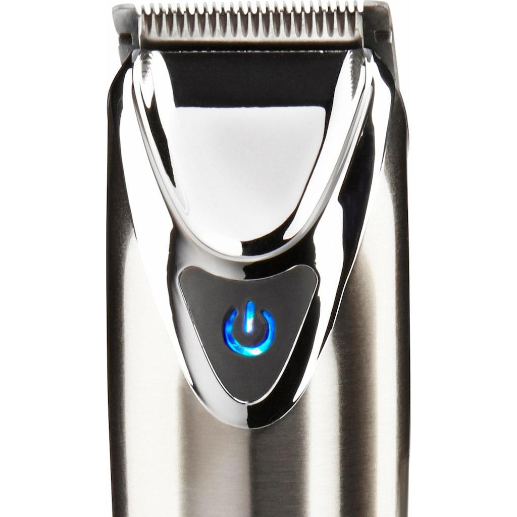 Wahl Bartschneider »9818-116 Stainless Steel«, 6 Aufsätze, Vollmetallschneidsatz