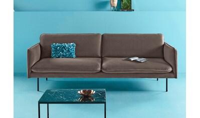 COUCH♥ 3-Sitzer »Levon«, in moderner Optik, mit Metallbeinen, COUCH Lieblingsstücke kaufen