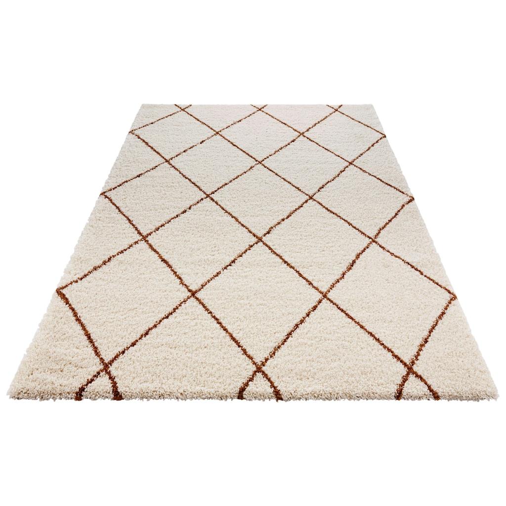 MINT RUGS Hochflor-Teppich »Feel«, rechteckig, 35 mm Höhe, besonders weich durch Microfaser, Wohnzimmer
