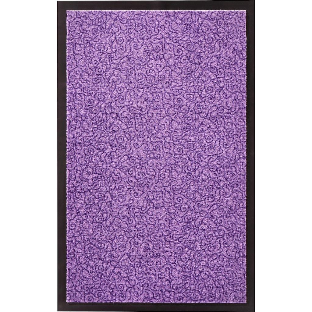 Zala Living Fussmatte »Smart«, rechteckig, 7 mm Höhe, Fussabstreifer, Fussabtreter, Schmutzfangläufer, Schmutzfangmatte, Schmutzfangteppich, Schmutzmatte, Türmatte, Türvorleger, rutschhemmend beschichtet