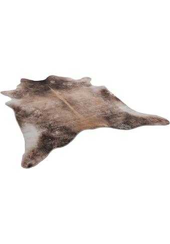 Gino Falcone Fellteppich »Emilia«, fellförmig, 3 mm Höhe, Kunstfell, gedruckte... kaufen