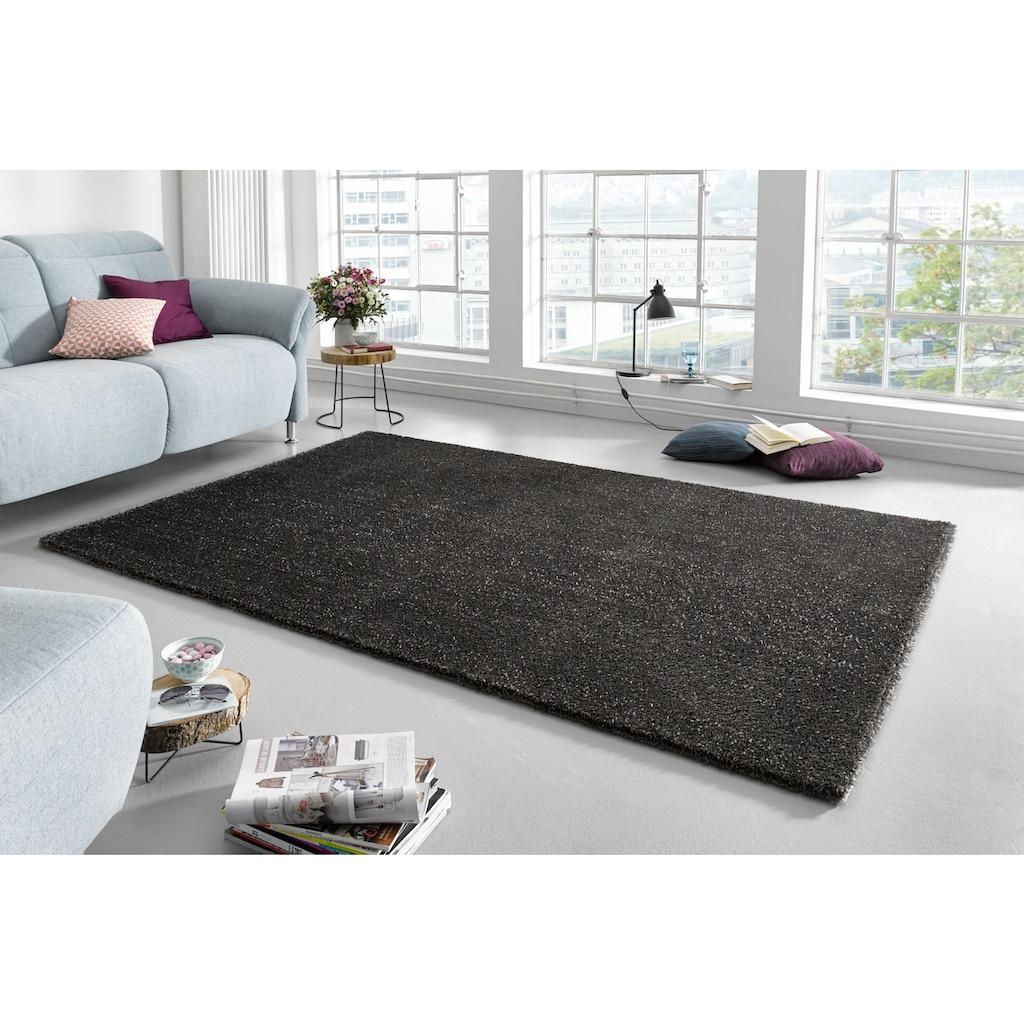 MINT RUGS Teppich »Glam«, rechteckig, 20 mm Höhe, Besonders weich durch Microfaser, Wohnzimmer