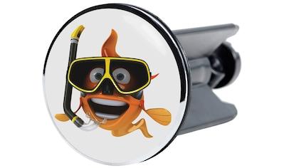 Sanilo Waschbeckenstöpsel »Fisch«, Ø 4 cm kaufen