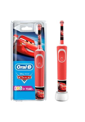 Oral B Elektrische Kinderzahnbürste »Cars«, 1 St. Aufsteckbürsten kaufen